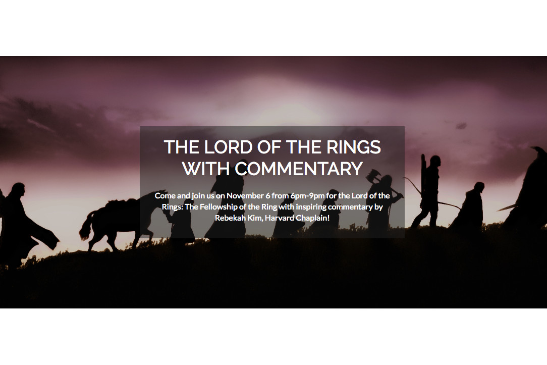 The Lord of the Rings: Fellowship of the Rings Commentary